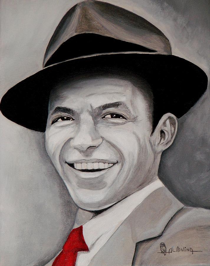 Celebrity Painting - Frank  by Al  Molina