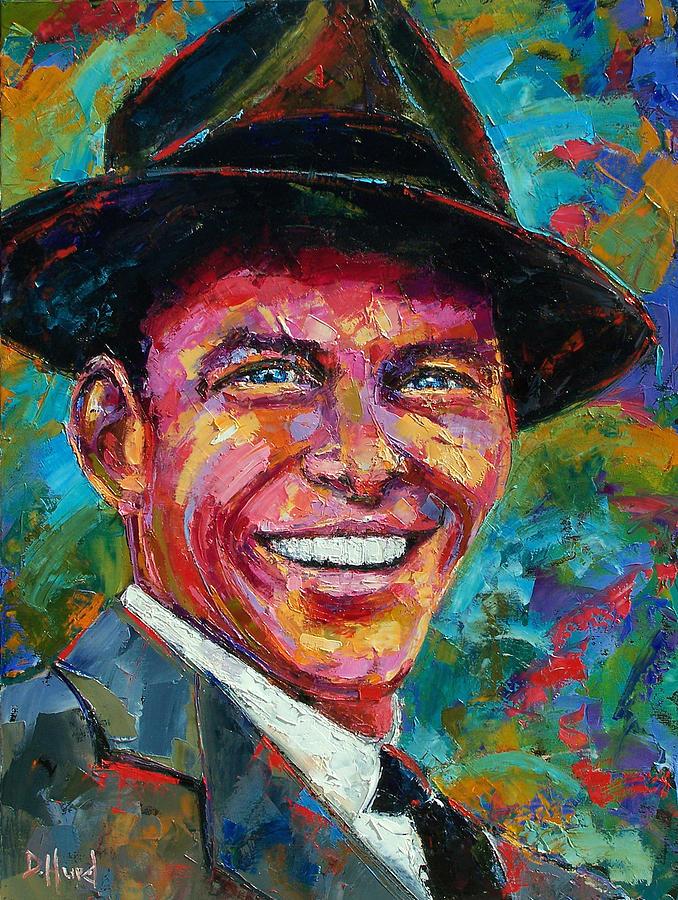 Frank Sinatra Painting By Debra Hurd