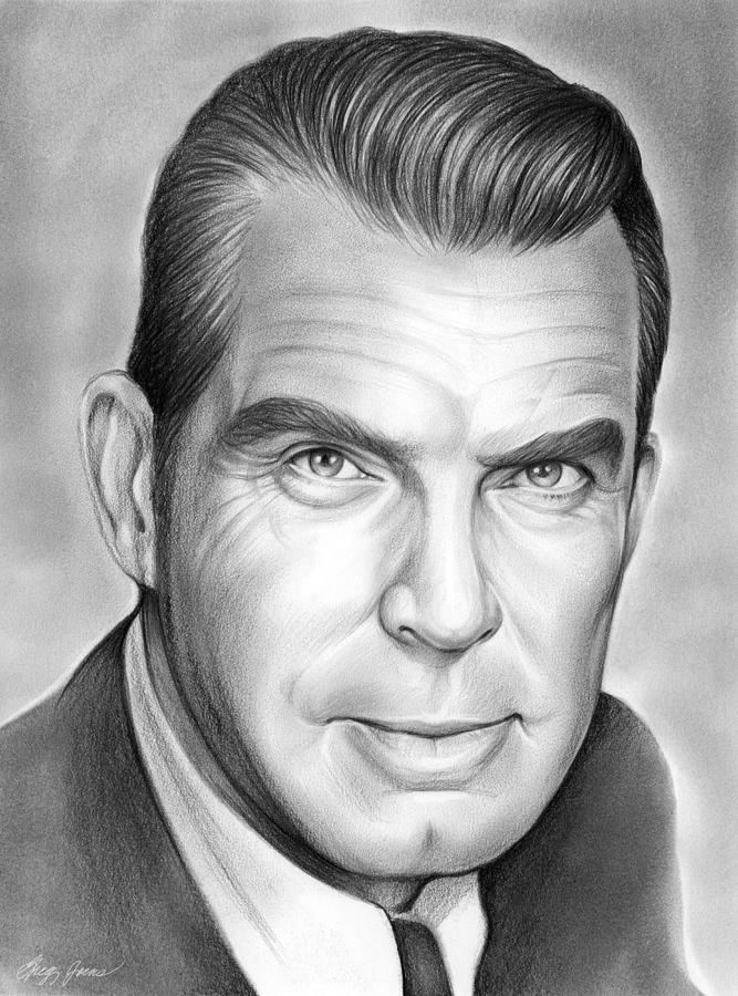 Fred Macmurray Drawing
