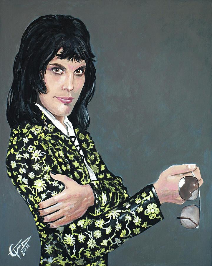 Freddie Mercury Painting - Freddie Mercury by Tom Carlton