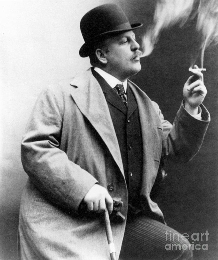 1909 Photograph - Frederic Remington by Granger
