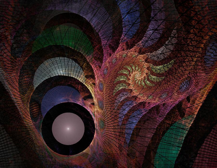 Abstract Digital Art - Freefall - Fractal Art by NirvanaBlues