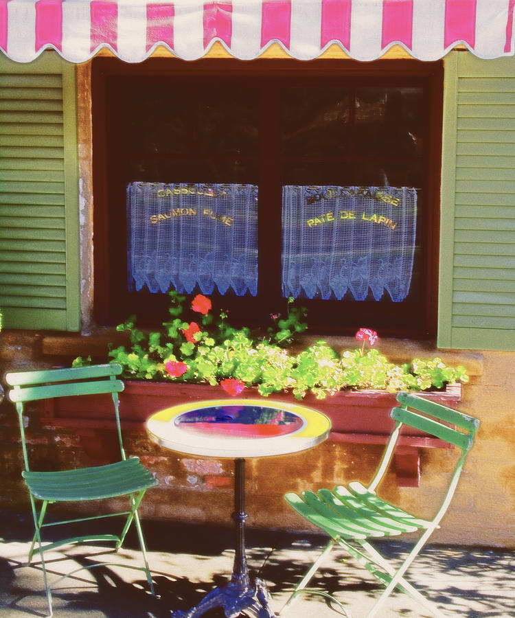 French Bistro In Napa Valley Photograph