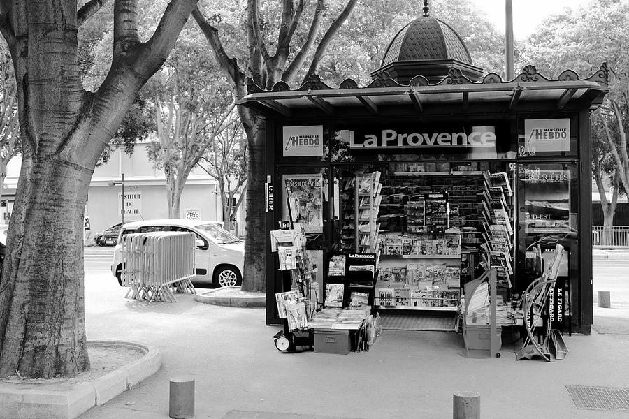 French Kiosk Photograph