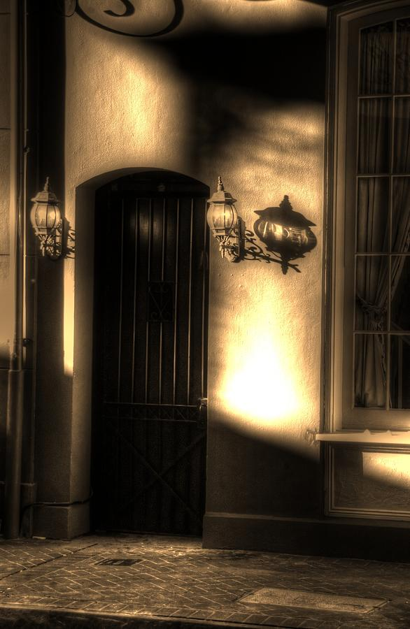 New Orleans Photograph - French Quarter Door by Greg and Chrystal Mimbs