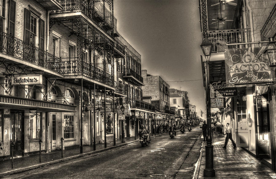 French Quarter Photograph - French Quarter Ride by Greg and Chrystal Mimbs