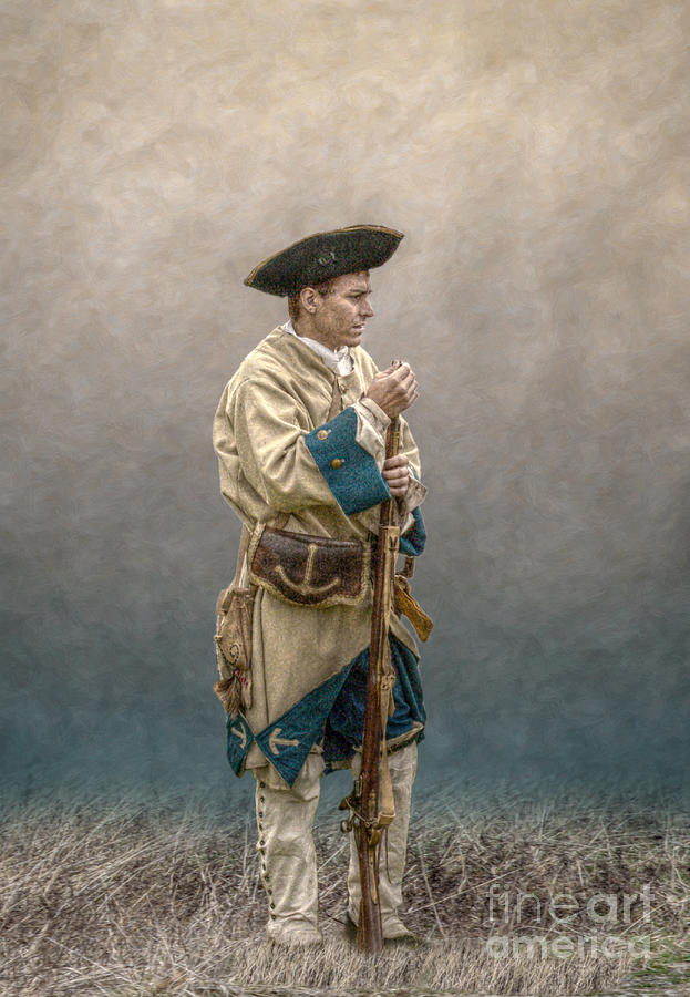 War Digital Art - French Soldier French And Indian War by Randy Steele