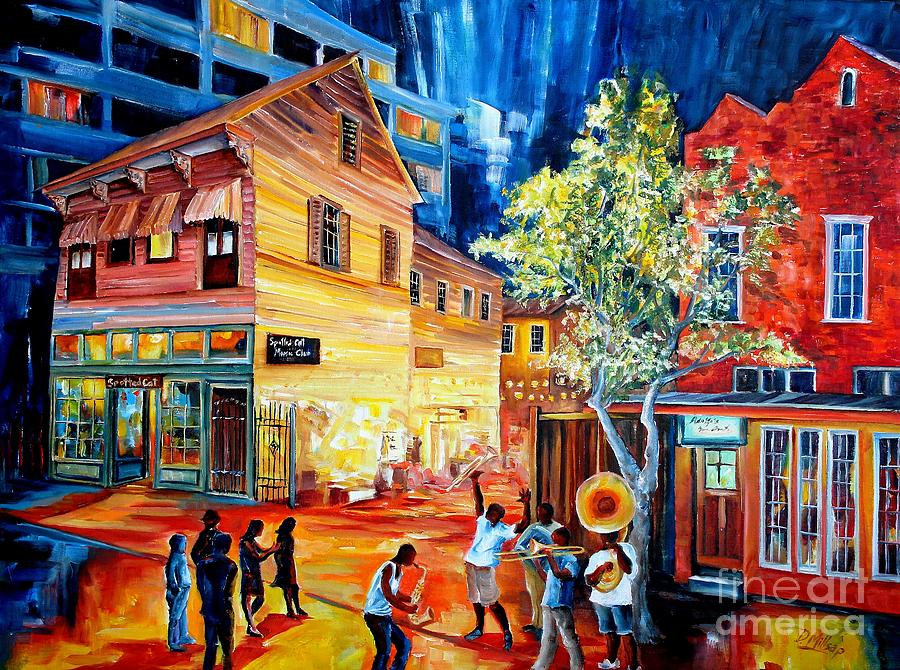 Frenchmen Street Funk Painting