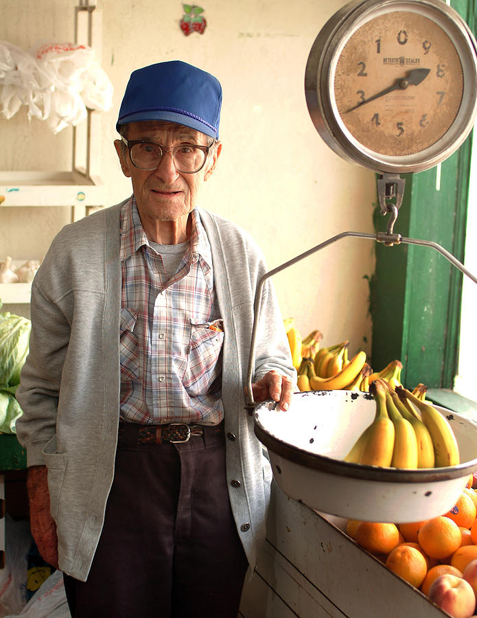 People Photograph - Fresh Bananas For Sale by Don Wolf