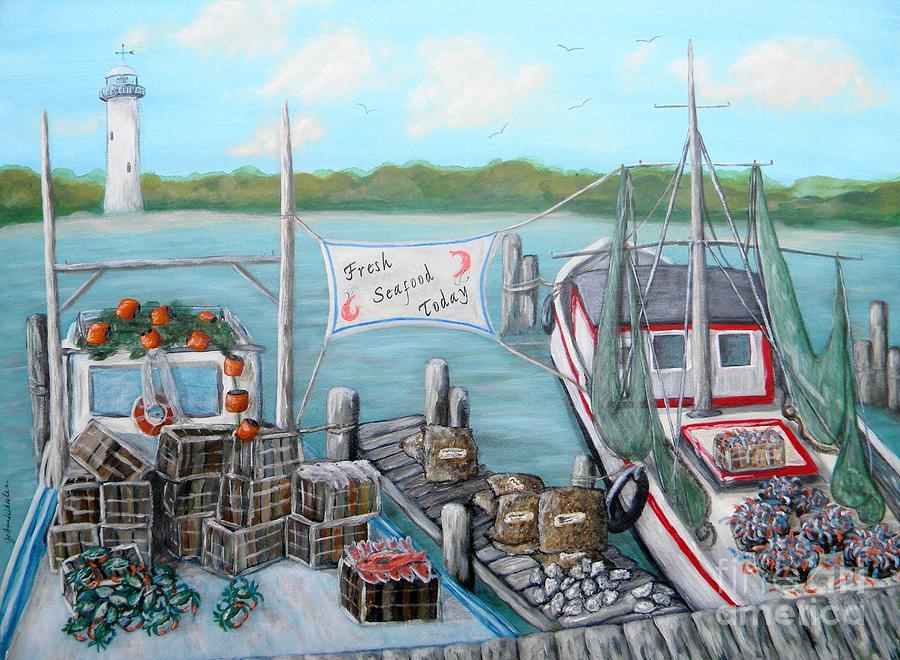 Fresh Seafood  Painting