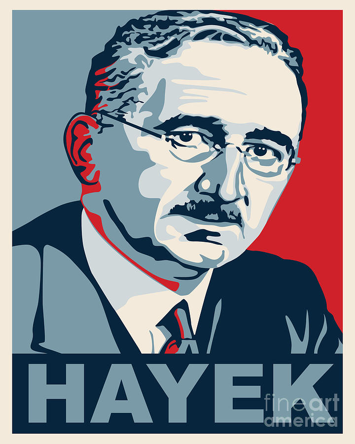 Image result for Friedrich A. Hayek CARTOON