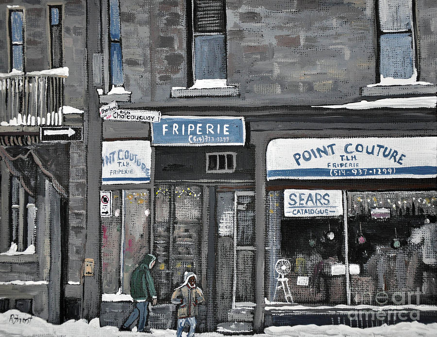 Friperie Point Couture Pte St. Charles Painting