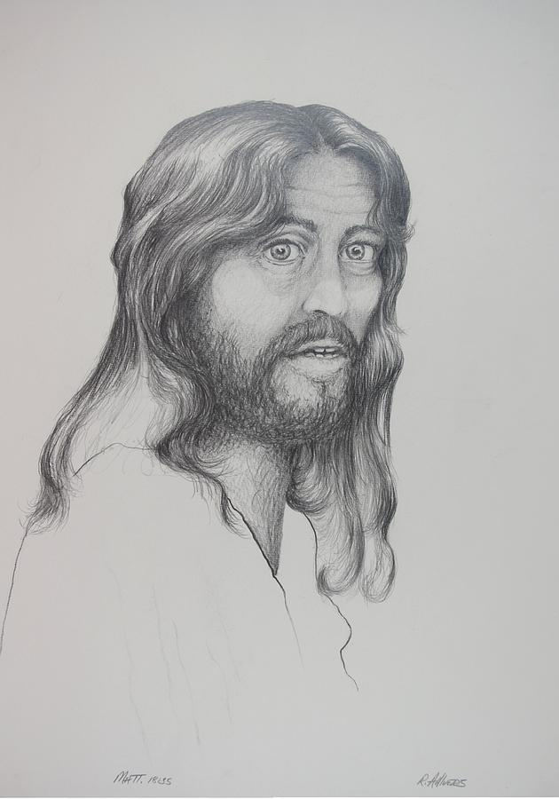 Christian Art Drawing - From Your Heart by Rick Ahlvers