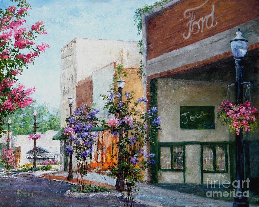 City Painting - Front Street by Virginia Potter