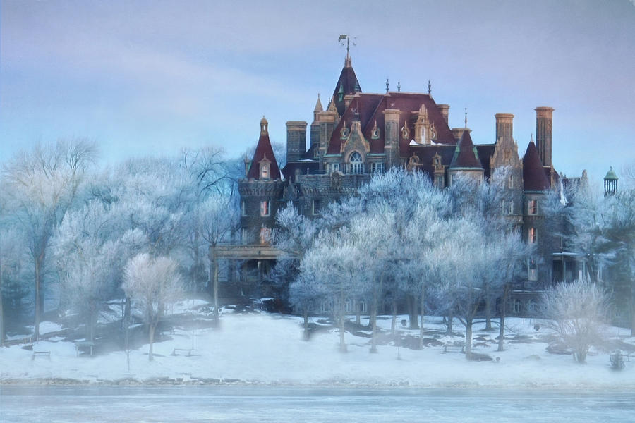 Thousand Islands Photograph - Frosted Castle by Lori Deiter