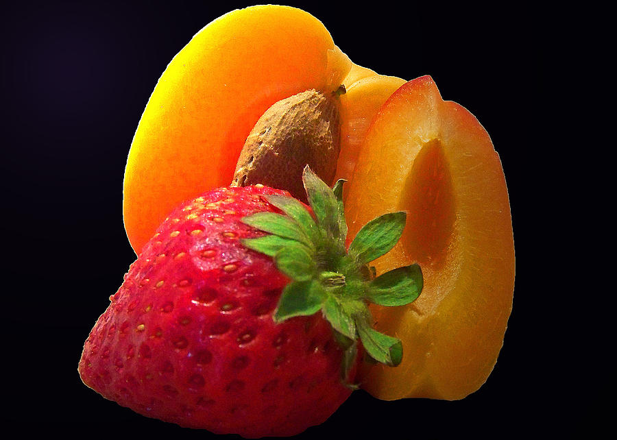 Fruit Photograph - Fruit Display by Amanda Vouglas