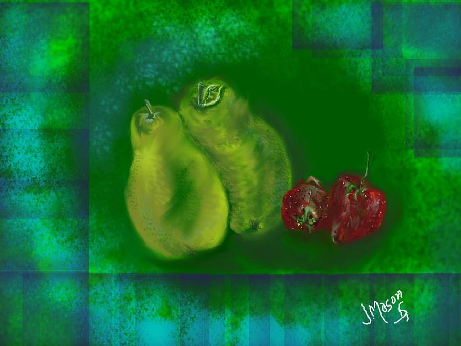 Fruit Digital Art - Fruit by Jessica Mason