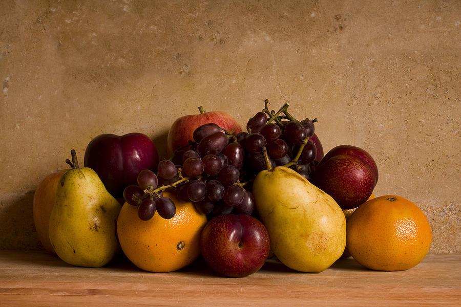Fruit Photograph - Fruit Still Life by Andrew Soundarajan