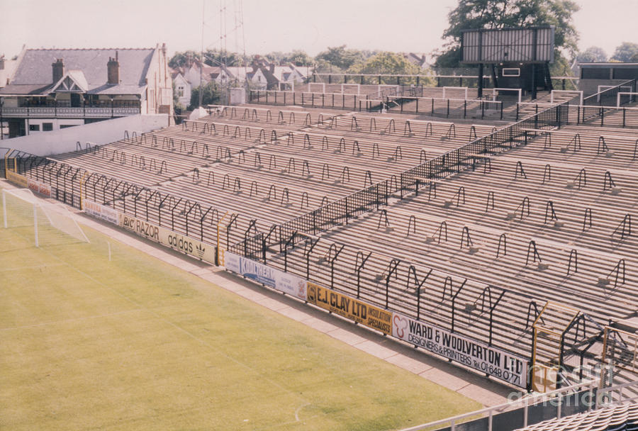 Fulham Craven Cottage South Stand 1 August 1986