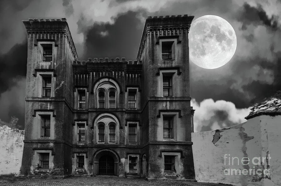 Full Moon Jail House Blues Photograph