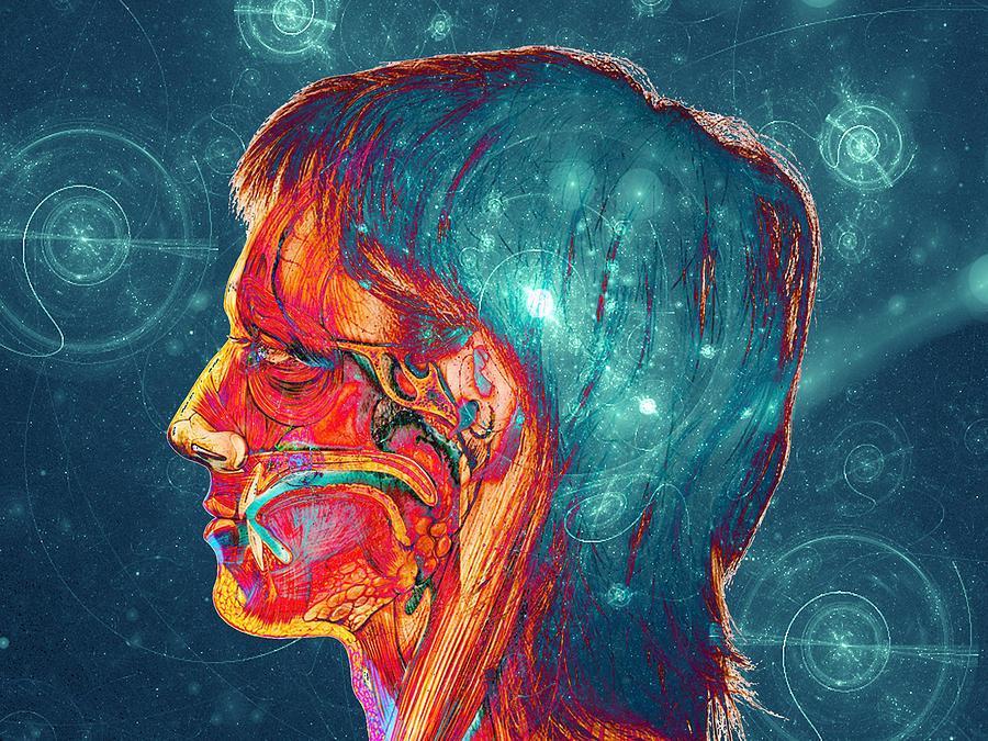 Galactic Mind Digital Art