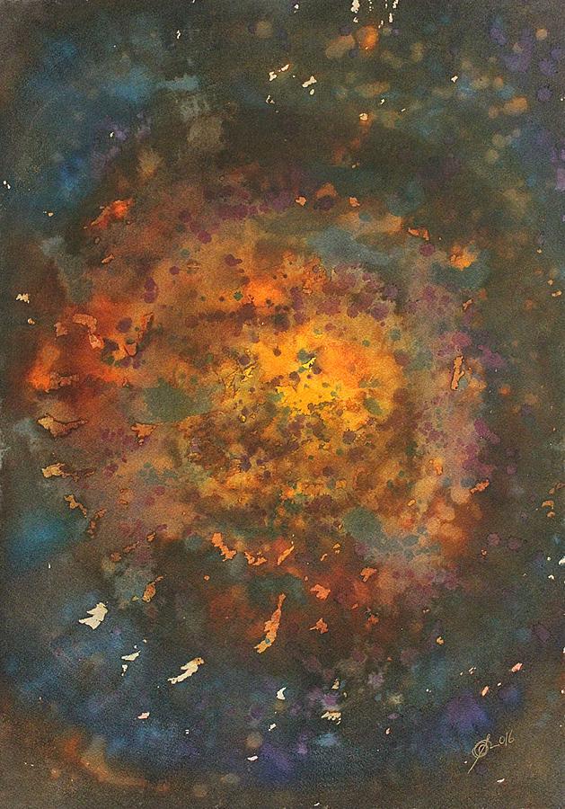 Galactica Original Painting Painting