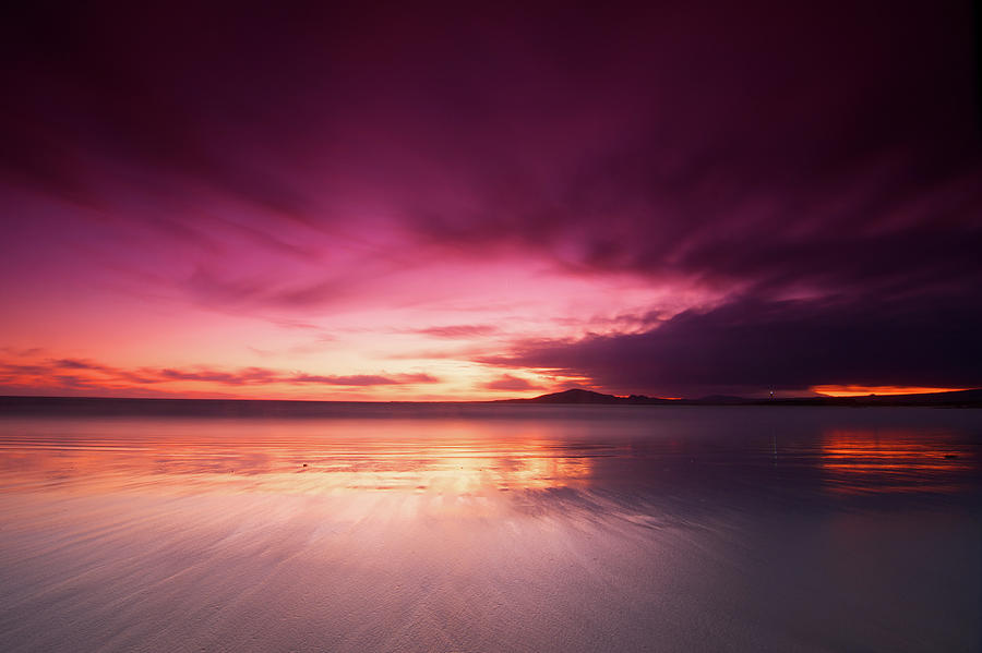 Horizontal Photograph - Galapagos View At Sunset by Andre Distel Photography