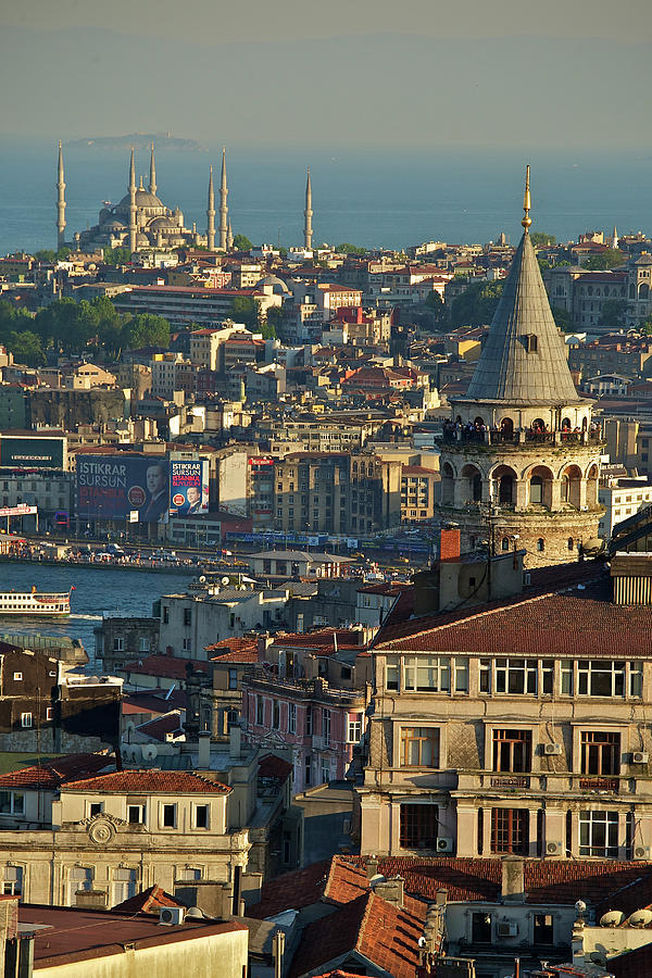 Vertical Photograph - Galata Tower by Photo by Bernardo Ricci Armani