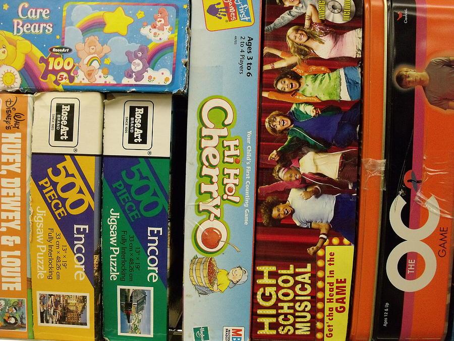 Game Shelf II Photograph
