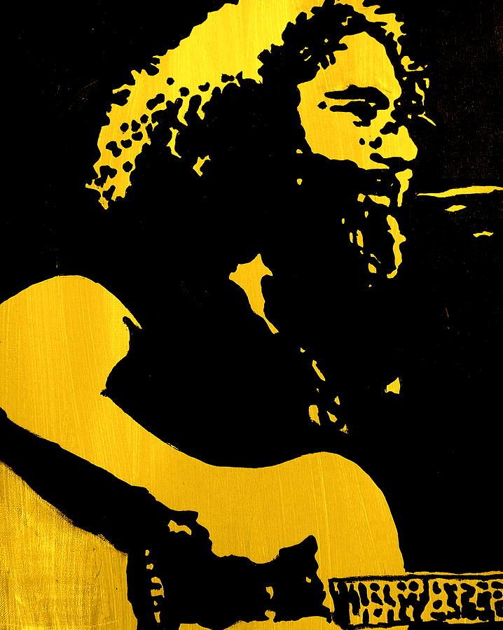 Jerry Garcia Painting - Garcia by Gayland Morris