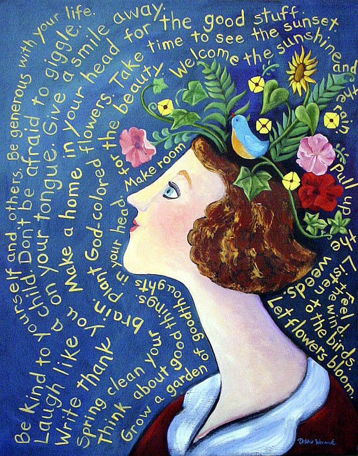 Garden Of Goodthoughts Painting