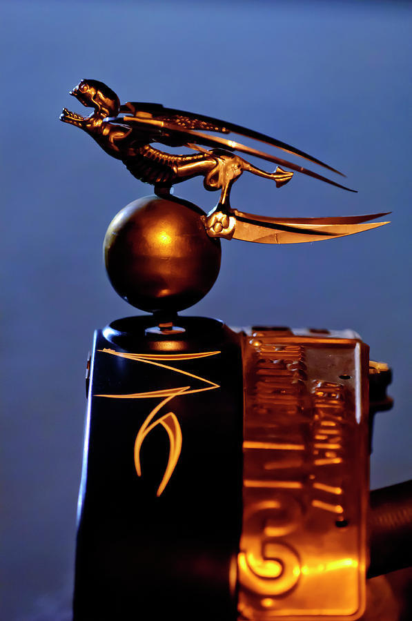 Gargoyle Photograph - Gargoyle Hood Ornament 3 by Jill Reger