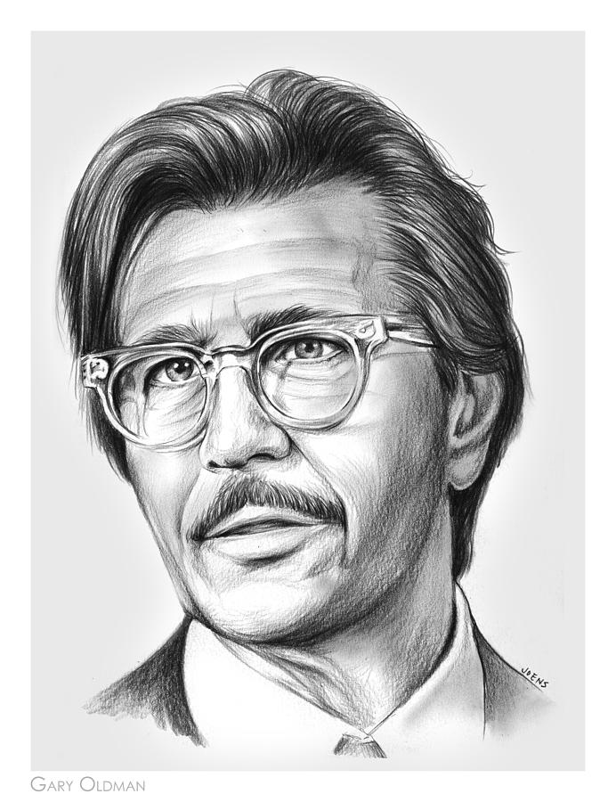 Gary Oldman Drawing