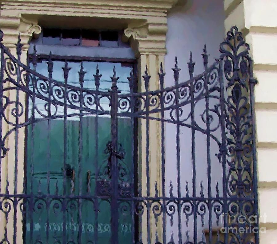 Gate Photograph - Gated by Debbi Granruth