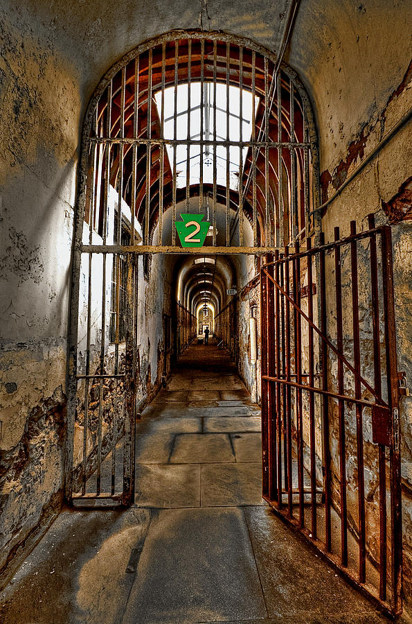 Block Photograph - Gateway To Hell by Evelina Kremsdorf