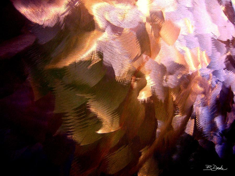 Purple Photograph - Gathering Storm Clouds by Barbara Drake