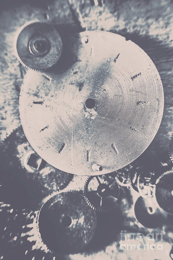 Gears Of Old Industry Photograph
