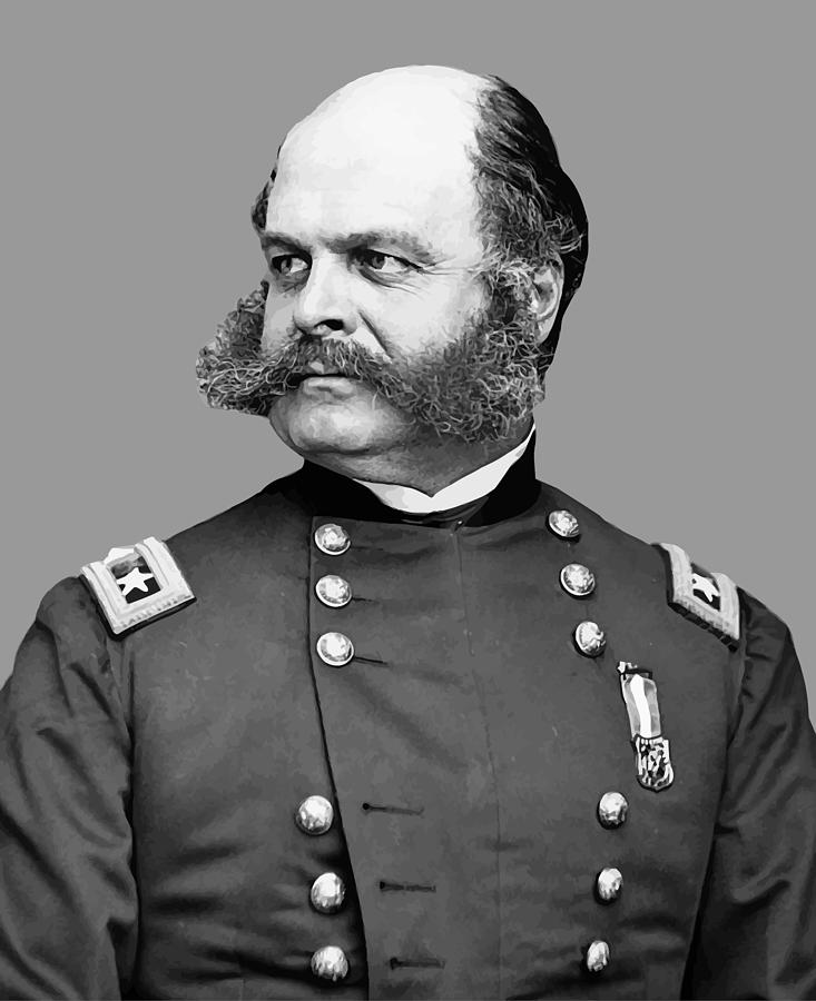 General Burnside Painting