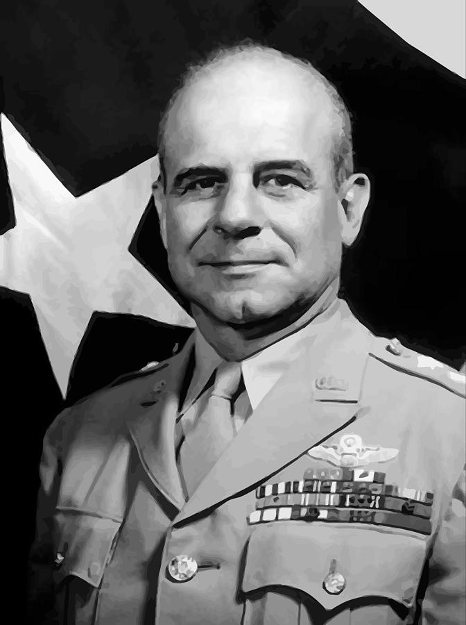Jimmy Doolittle Painting - General Doolittle by War Is Hell Store
