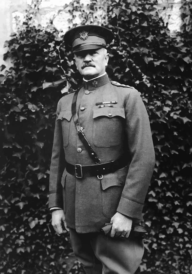 Ww1 Painting - General John J. Pershing by War Is Hell Store