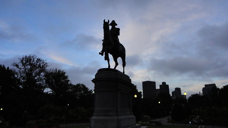 George Washington Photograph - General Washington Rides by Eliot Jenkins