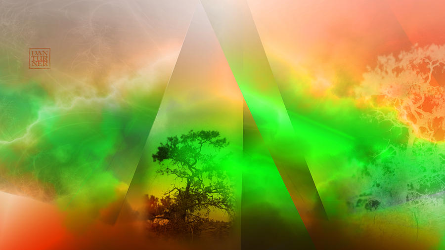 Genesis Digital Art - Genesis by Dan Turner