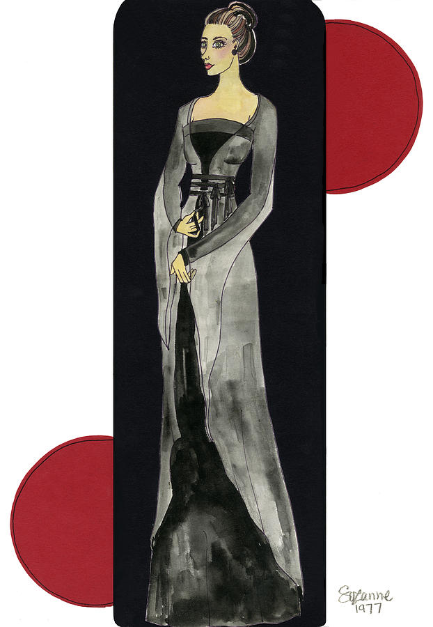 Fashion Mixed Media - Genevieve by Suzanne Blender