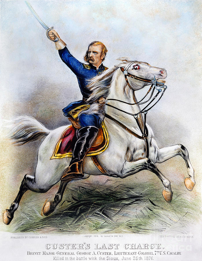 George Armstrong Custer Photograph