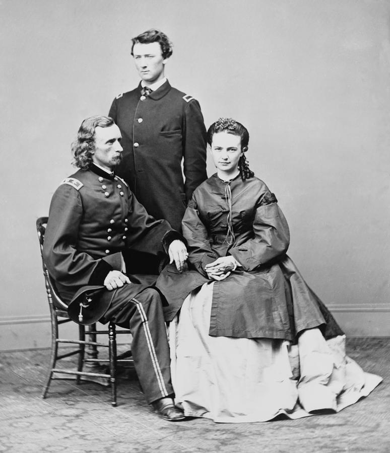 George Armstrong Custer, Seated Photograph