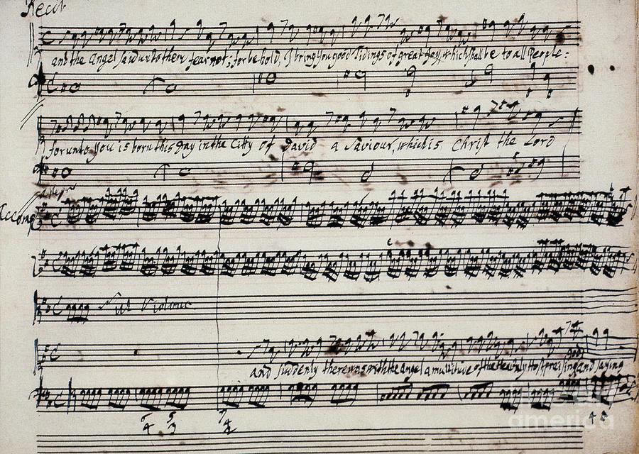 1742 Photograph - George Frederick Handel by Granger