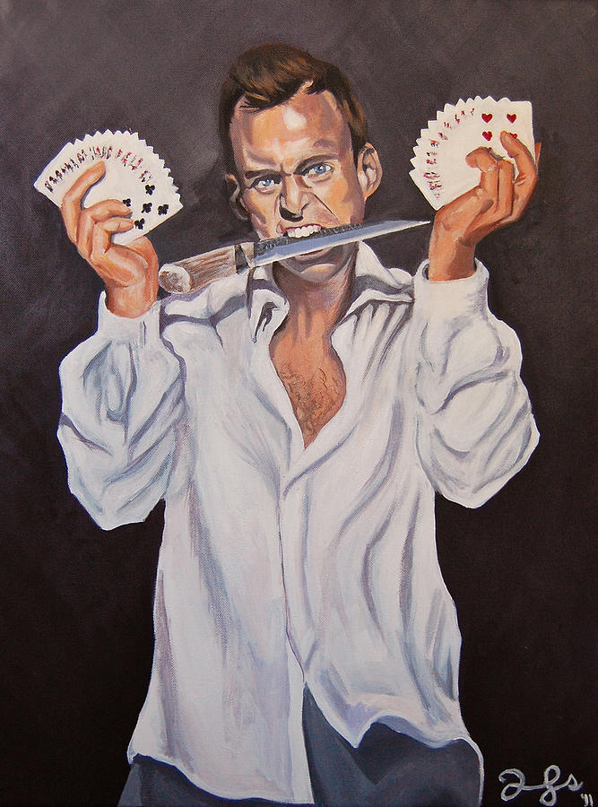 Gob Painting - George Oscar Bluth by Emily Jones