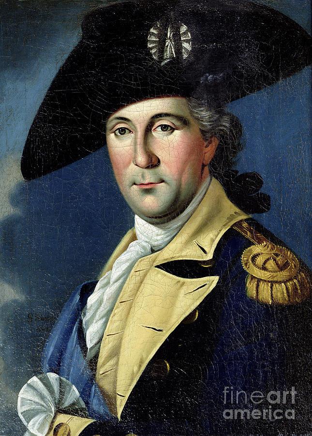 George Painting - George Washington by Samuel King
