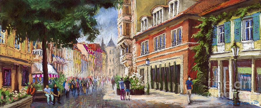 Germany Baden-baden Lange Str Painting