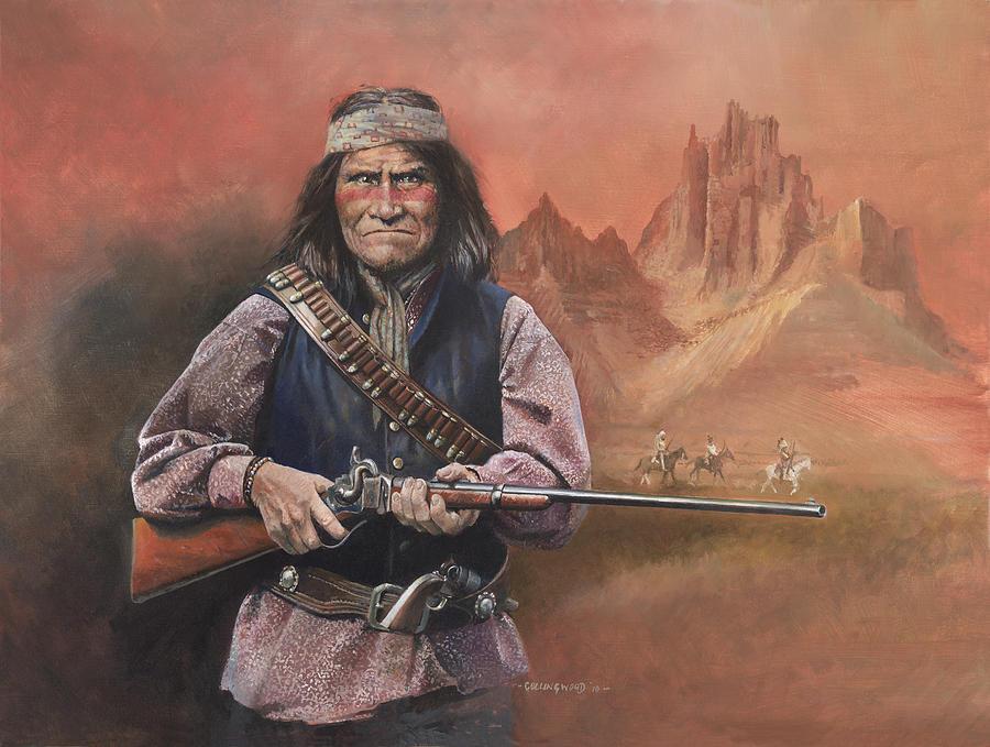 Geronimo Painting - Geronimo by Chris Collingwood